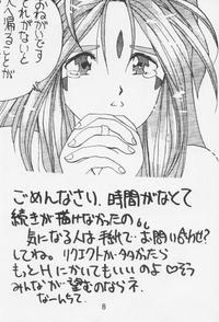 Aah! Megamisama! 1 Page 7
