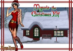 Free Hentai Misc Gallery: Mynxie the Christmas Elf - mongo bongo