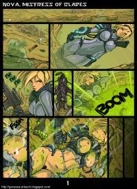 Free Hentai Western Gallery: [Ganassa (Alessandro Mazzetti)] Nova, Mistress of Blades (Starcraft)