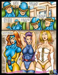 Free Hentai Western Gallery: [Drawn-Sex] X-Men