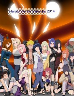 Free Hentai Western Gallery: Naruto Hentai Calendar 2014
