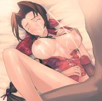 Free Hentai Image Set Gallery: Final Fantasy Aeris