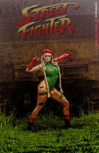 Jaque Marques as Cammy (Street Fighter)