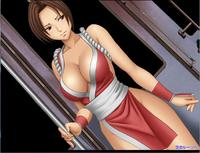 Free Hentai Game CG Set Gallery: [Crimson Comics] e-Animation Shiranui Mai (KoF)
