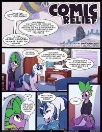 [Braeburned] Comic Relief Parts 1&2