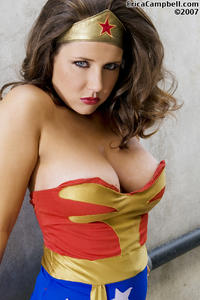 Free Hentai Cosplay Gallery: Wonder Woman Cosplay Erica Campbell