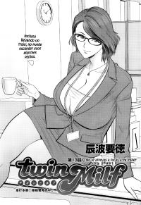 [Tatsunami Youtoku] Twin Milf Ch. 13 (Action Pizazz Special 2015-02) [Spanish] [Knk projects]