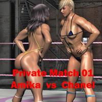 Artist CALVADOS Fight Club / Private Match 01 Amika vs Chanel