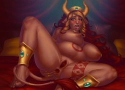 Free Hentai Western Gallery: Queen Excellia - Corruption of Champions