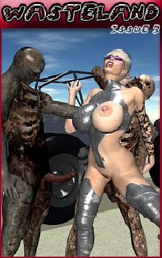 Free Hentai Misc Gallery: 3D Wasteland - Issue 3 - Walking Dead