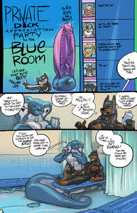[Mamabliss] Private Dick Appreciation Party in the Blue Room