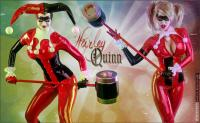 Free Hentai Cosplay Gallery: Latex Harley Quinn by Bianca Beauchamp!