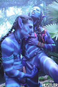 Free Hentai Cosplay Gallery: [Hustler] Na'vi (Avatar)