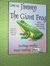 Free Hentai Western Gallery: THE GIANT FROG (CARNIVORE CAFE) (SPANISH)