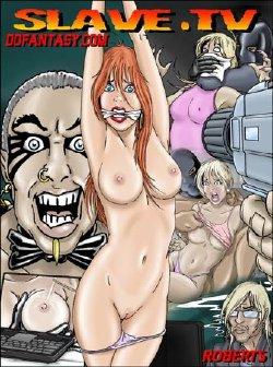 Free Hentai Western Gallery: Slave TV