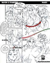 PowerMan2000 - Teen Titans Comic for Zeke-Staright