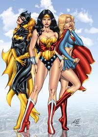 Free Hentai Western Gallery: DC Girls