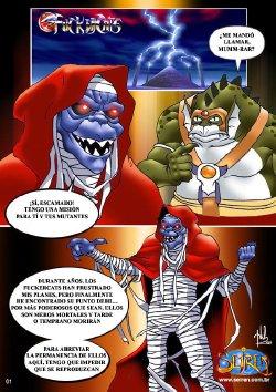 Free Hentai Western Gallery: fuckercats [thundercats] Comic xxx  (the only in Spanish)