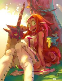 Free Hentai Western Gallery: Wakfu/Dofus Collection