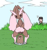 [DarkYamatoman] Lopunny Gets Caught (Pokemon)