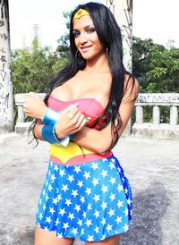 Michelly Cinturinha is Wonder Woman