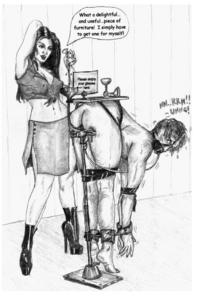 Hentai Western Gallery Augustine Femdom Enema And Torture Artwork