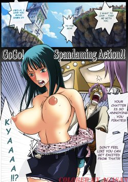 [Konsoul] [One Piece] GO GO SPANDAMING ACTION [Full color ...