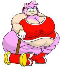 [Guyfuy] Bigger Amy + Revenge Best Served Fat (Sonic The Hedgehog)