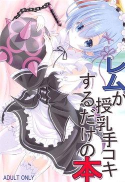Free Hentai Doujinshi Gallery: (C91) [Snow child (Souda Synme)] Rem ga Junyuu Tekoki Suru dake no Hon (Re:Zero Kara Hajimeru Isekai Seikatsu)