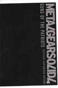 Metal Gear Solid 4 - Art Booklet