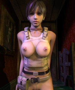 Free Hentai Misc Gallery: Resident Evil Hentai 3D