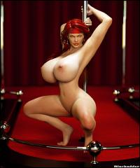 Free Hentai Misc Gallery: [Blackadder] Miriam 3D