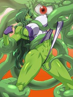 Free Hentai Western Gallery: She-Hulk (gallery)