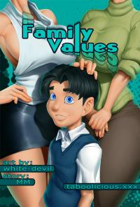 Taboolicious Family Values Comic