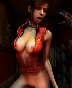 Free Hentai Misc Gallery: Claire Redfield 3D