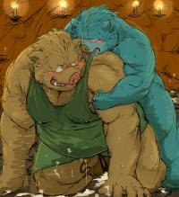 Collection: Dragon quest: Orc - Yaoi Bara