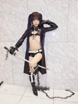 Free Hentai Cosplay Gallery: Black Rock Shooter