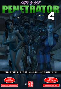 Lady & Cop VS Penetrator 4 (Chapter 1-2)