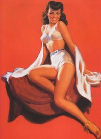 Alfred Buel's pin-up
