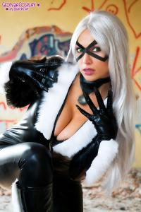 Free Hentai Cosplay Gallery: Giorgia Cosplay - Black Cat