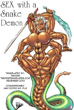 Free Hentai Manga Gallery: [Arsenothelus (Rebis)] Sex With a Snake Demon + Character Profiles (English) [Tigoris]