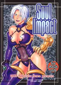(C65) [Bakuretsu Fusen (Denkichi)] Soul Impact (SoulCalibur) [Russian] [Witcher000]