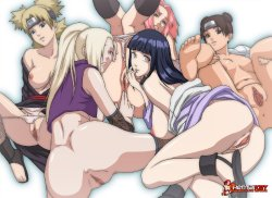 Free Hentai Image Set Gallery: Naked Naruto Girls - Only The Best From Kurdo