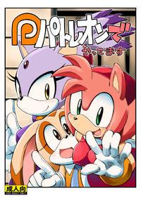 (Sega no Game wa Sekaiichi 12) [Tengai Aku Juumonji (Akuno Toujou)] Patreon de Yattemasu (Sonic the Hedgehog) [Sample]