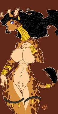 Free Hentai Western Gallery: Giraffe Love