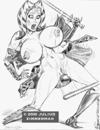 Free Hentai Western Gallery: Ahsoka Tano