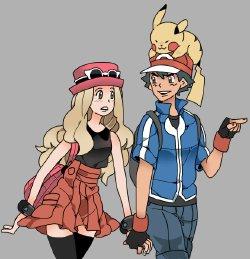 Free Hentai Non-H Gallery: Pokemon X Y Serena セレナ (Non-Hentai)