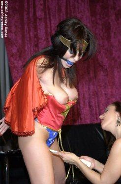 woman cosplay bondage Wonder