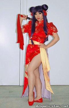 Free Hentai Cosplay Gallery: Shampoo - Ranma 1/2