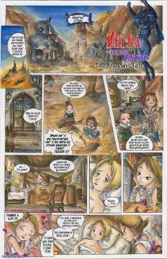 Free Hentai Western Gallery: [Passage] Two Destinies (The Legend of Zelda) [English]